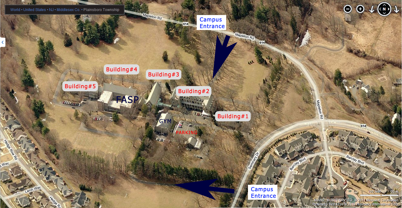 FASP-Campus-Map